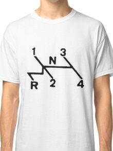 VW Shift pattern Classic T-Shirt