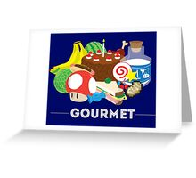 Gourmet Greeting Card