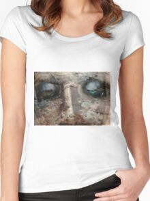 ~closer to the ground~ Women's Fitted Scoop T-Shirt
