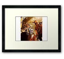 King For a Day // Pierce The Veil Framed Print