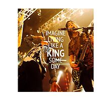 King For a Day // Pierce The Veil Photographic Print