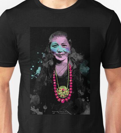Tibetan Prints (Achi Drogmo #2) Unisex T-Shirt