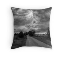 Red Dirt Road Throw Pillow