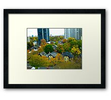 Victoriana in the city Framed Print