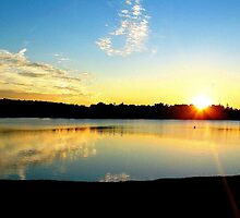 Panorama Sunset by Tommy Seibold