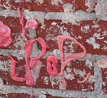 bubble gum wall by chazlady2003