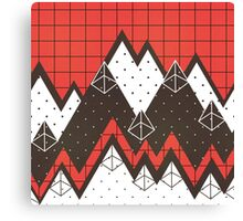 Moutains 2 Canvas Print