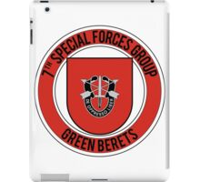 7th Special Forces iPad Case/Skin