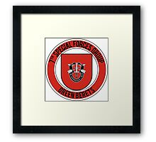 7th Special Forces Framed Print