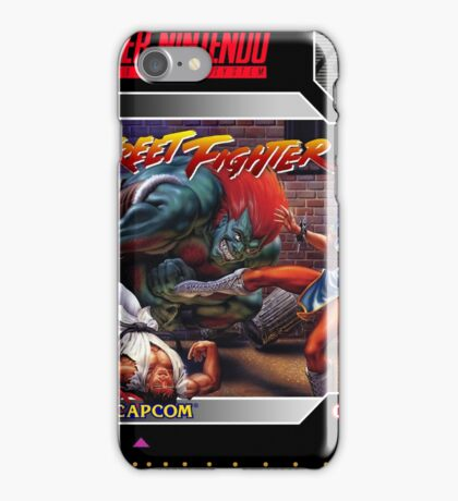 Street Fighter 2 Super Nintendo Collection iPhone Case/Skin