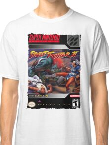 Street Fighter 2 Super Nintendo Collection Classic T-Shirt