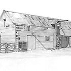 Old Shearing Shed by bitsdraw