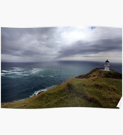 Cape Reinga lighthouse  Poster