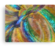 Rainbow Turbulence Canvas Print