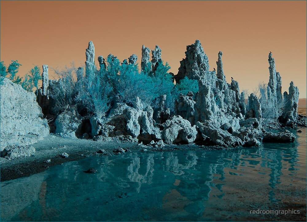 Mono Lake-The Other Planet by redroomgraphics