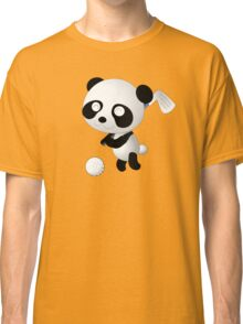 Golf Panda - Cute Funny Cartoon For Golfing Sports Lover People  Classic T-Shirt