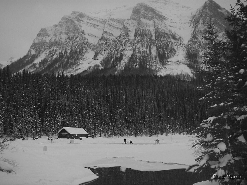 Hockey In The Rockies by Chris Marsh