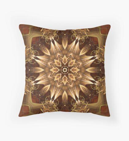 Fractdala 2 Throw Pillow