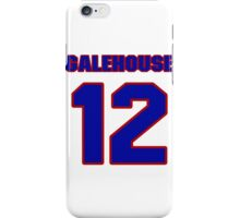 National baseball player Denny Galehouse jersey 12 iPhone Case/Skin