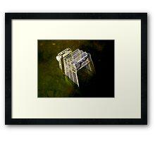 TROLLEY RAGE Framed Print