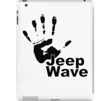 Jeep Wave black color design iPad Case/Skin