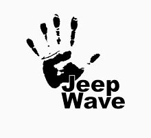 Jeep Wave black color design Unisex T-Shirt