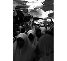 Marketplace Ghosts Photographic Print