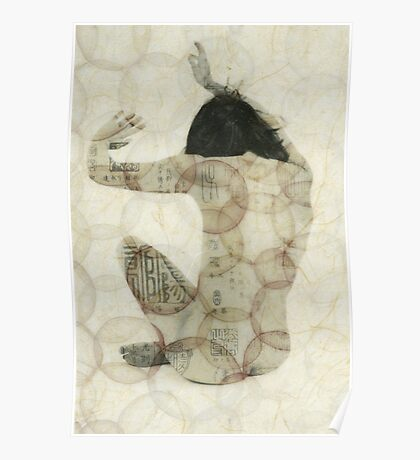 Imprinted Woman Poster