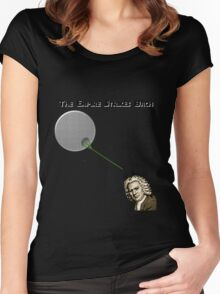The Empire Strikes Bach Women's Fitted Scoop T-Shirt