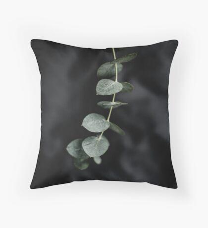 Night garden vine Throw Pillow