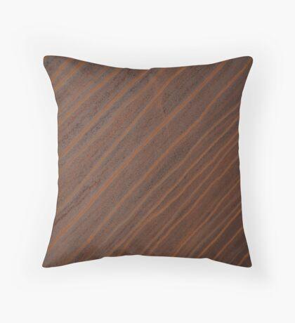 Rusting Sculpture Throw Pillow