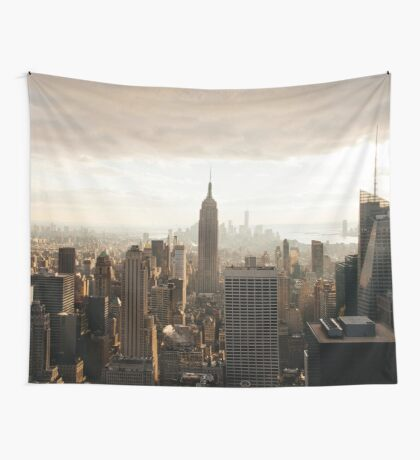 Sepia New York City Wall Tapestry