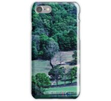 Canoist on Rydal Water Lake District England 19840520 0019 iPhone Case/Skin