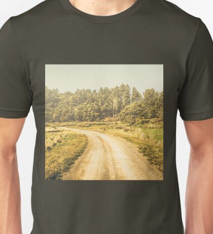 Countryside road in outback Australia Unisex T-Shirt