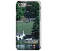 Canoist near Nab Cottage Rydal Water Lake District England 19840520 0020  iPhone Case/Skin