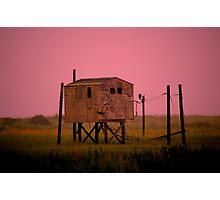 The Fog House Photographic Print