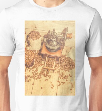 Rustic country coffee house still Unisex T-Shirt