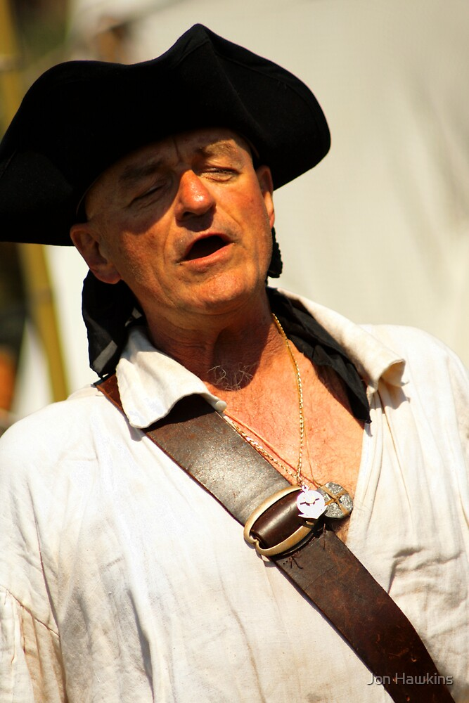 Singing Pirate by Jon Hawkins
