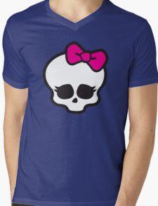 Monster High Skull Mens V-Neck T-Shirt