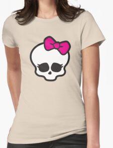 Monster High Skull Womens Fitted T-Shirt