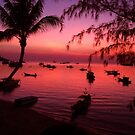 Sunset at Koh Tao by Philip Alexander