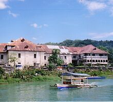 Loboc Church - Bohol, Philippines by Robert Phelps