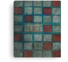 State Of Peace Canvas Print