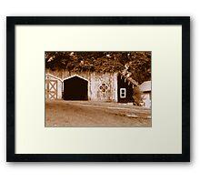 Gothic Barn Framed Print