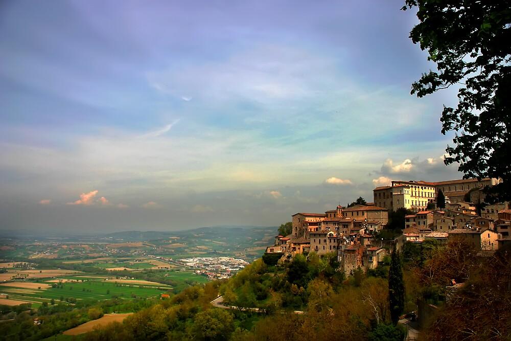 Todi, Italy by Al Morrison