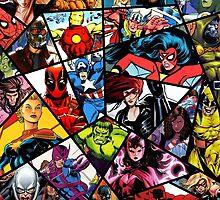 Marvel by thaliaward