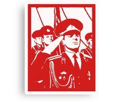 SOVIET SOLDIERS Canvas Print
