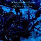 Hues if Blues Haiku by Charldia