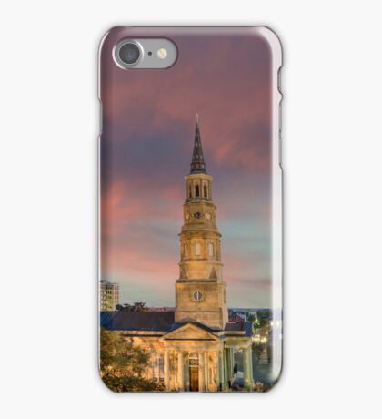Church St. Sunset iPhone Case/Skin