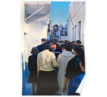 Easter Procession, Mykonos, Greece, 1960 Poster